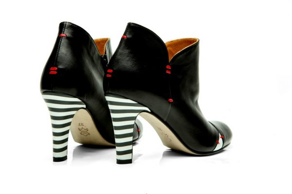 Womens Shoes High Heel Black Ankle Boots