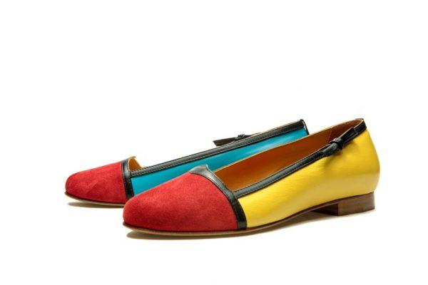Womens Shoes Multicolor Ballet Flats