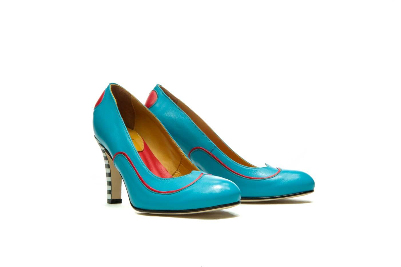 Blue heels | Official Milenika shoes