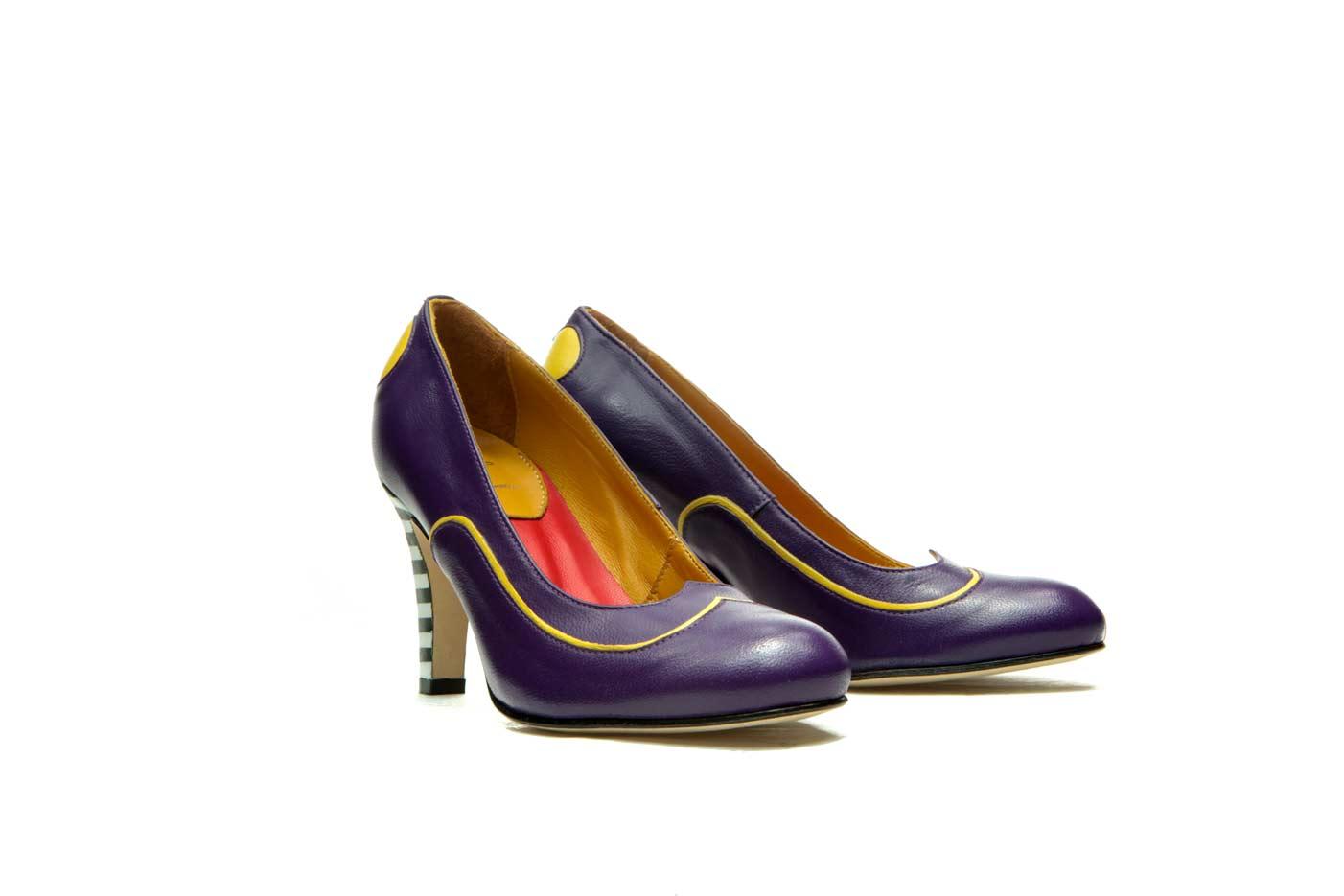 Purple heels | Designer shoes