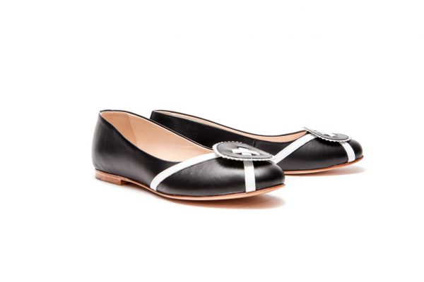 Womens Shoes Black Ballet Flats
