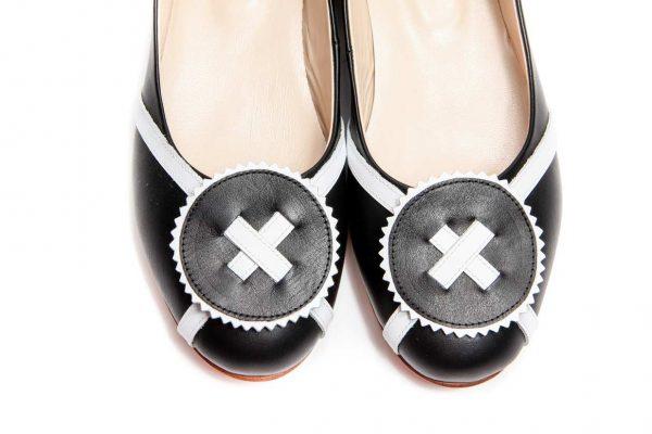 Womens Shoes Black Ballet Flats