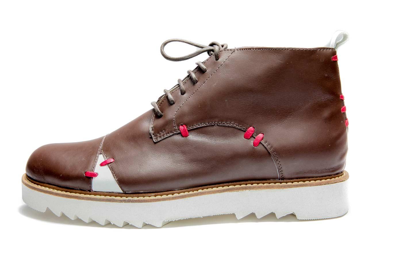 Brown mens derby shoes | Men's ankle