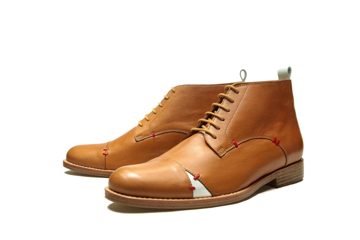 Mens brown ankle boots   Handmade Milenika shoes