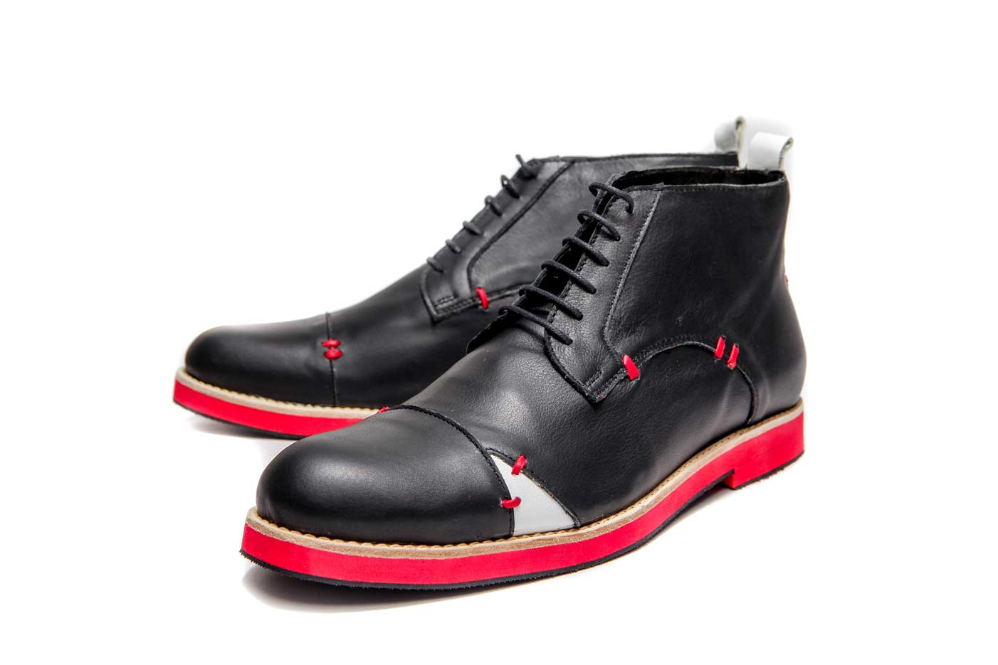 Mens shoes with red soles | Men's ankle