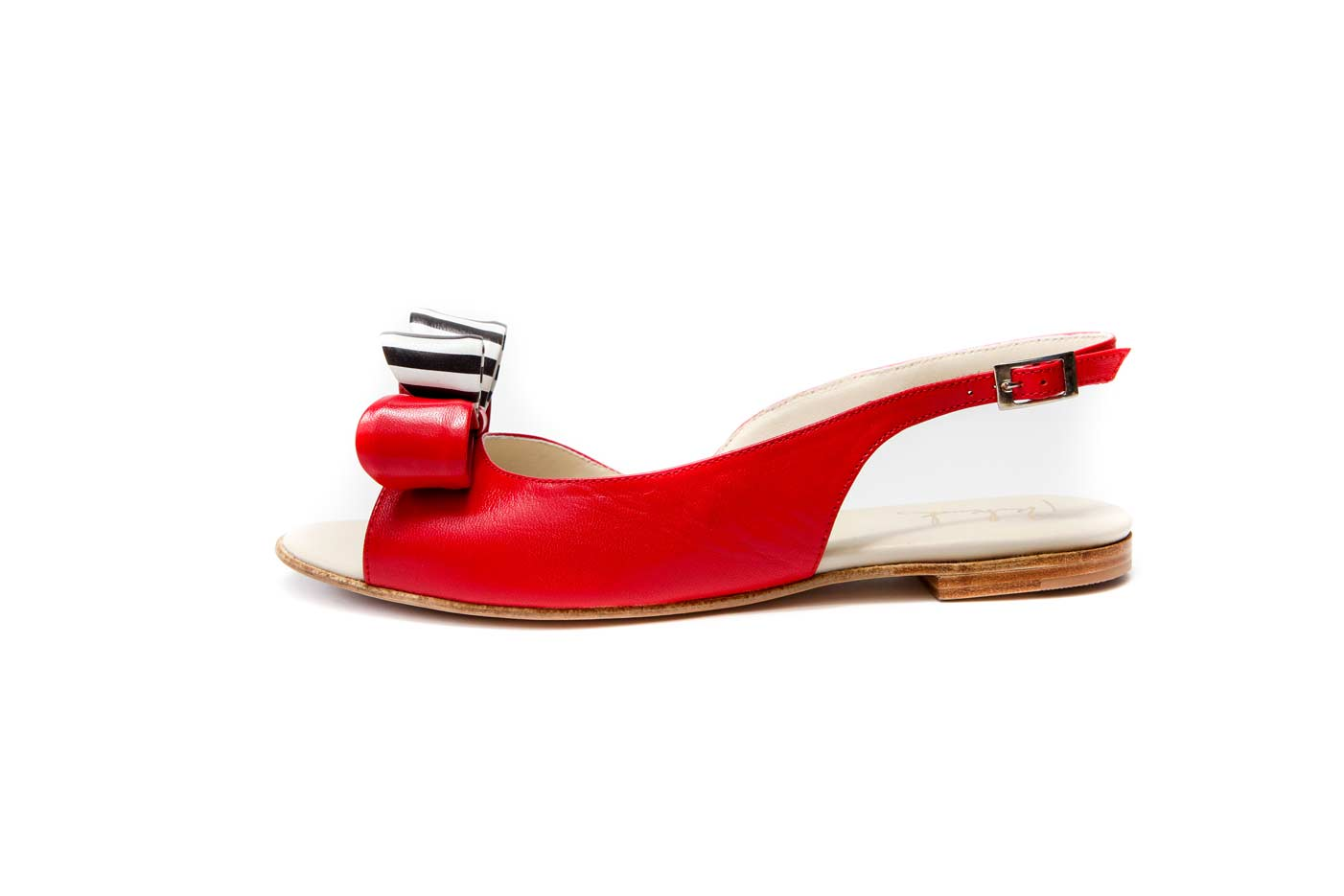 Red bow sandals   Official Milenika