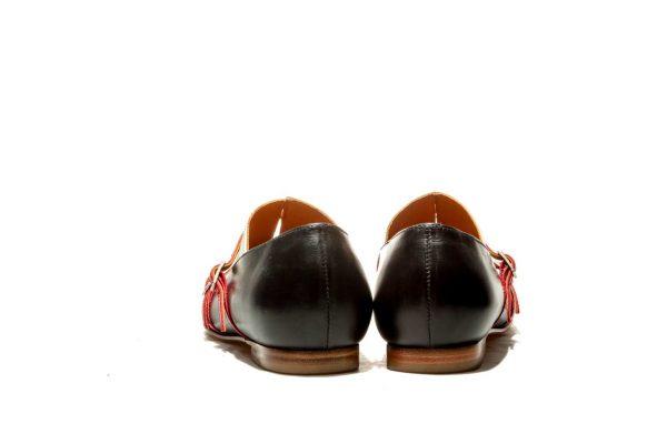 Womens Shoes Black Monk Shoes Black Ballet Flats