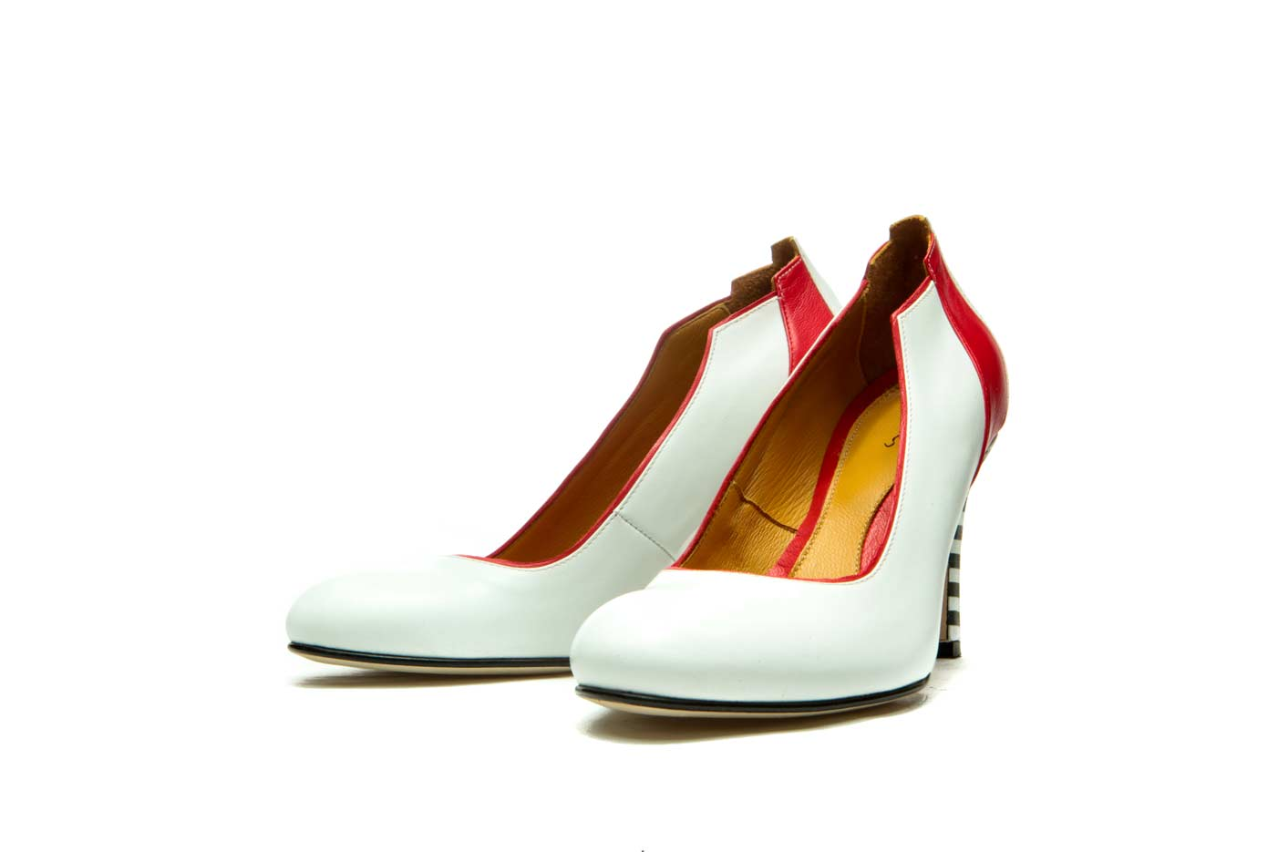 White pumps | Handmade leather shoes